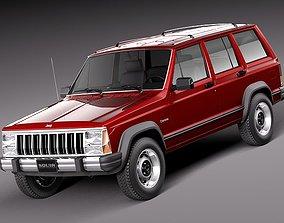 Jeep Cherokee 1984 1996 3D