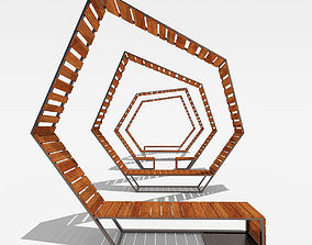 3D model Relaxing Sitting