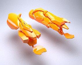 3D printable model Bracers of Moira OverWatch