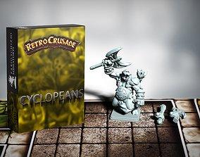 Retrocrusade - Cyclopeans set 4 3D printable model