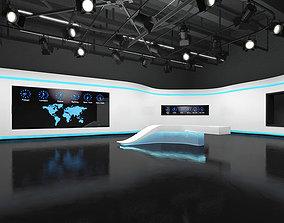 TV Studio 3D stage