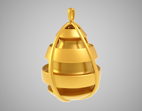 3D printable model Pear Necklace