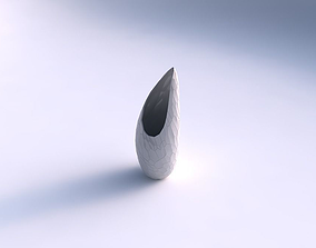 Vase Tsunami with fine organic cells 3D printable model