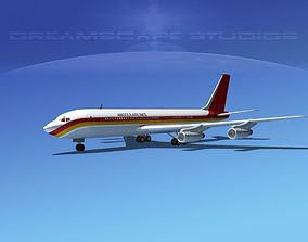 Boeing 707 Angola Airlines 3D model