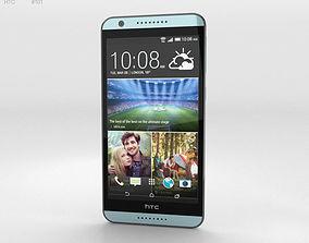 3D model HTC Desire 820 Blue Misty