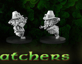 3D print model Catcher leprechauns