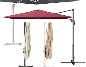 3D model patio Cantilever Parasol