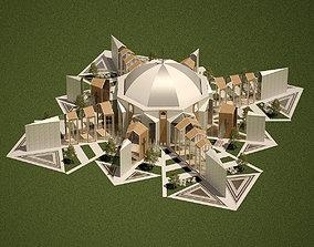 Millennium Church 3D dome