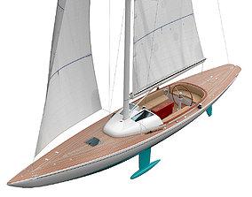 Leonardo yacht Eagle 44 CIAN 3D
