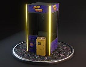 3D model Claw Crane Machine - Realistic GameReady
