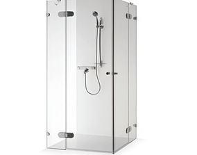 3D model Shower cabin New style Modern
