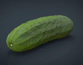 Cucumber 3D asset