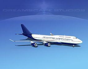 3D Boeing 747-400 Air Charter Intl