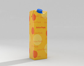 Juice Pack 3D model game-ready