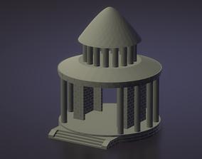 Saint Seiya Aquarius Temple - Templo 3D printable model
