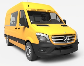 Mercedes Benz Sprinter 3D model