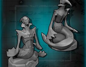 3D printable model Sea of Thieves Mermaid statue