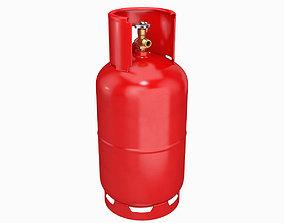 3D model Gas cylinder 12L