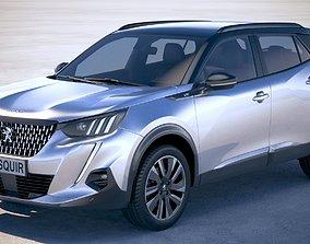 Peugeot 2008 2020 3D