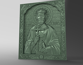3D printable model the icon of the Holy Prince Vladimir