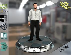 Executive Man 3D model