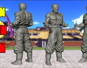 3D print model Ten Shin Han - Dragon Ball