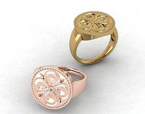 3D printable model Ring printed on sealing wax