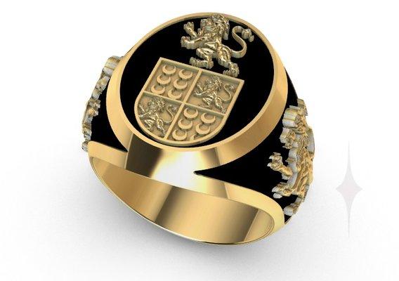 RING MEN coat of arms