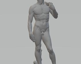 Statue of David 3D model relief for cnc 3D printers STL 1