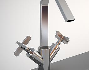 Fantini Rivera 4256F mixer 3D model realtime