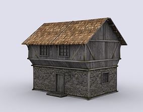 3D asset Medival house