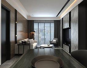 3D furniture living room Interior