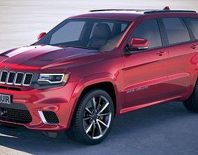 3D model Jeep Grand Cherokee TrackHawk 2018