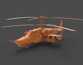 Kamov Ka-50 Black Shark 3D print model
