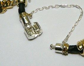 Pandora bracelet lock 3D printable model