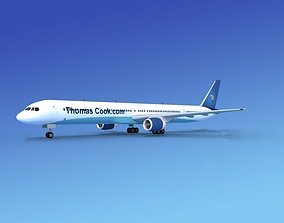 3D model Boeing 757-300 Thomas Cook 1