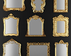 3D model Collection of mirrors