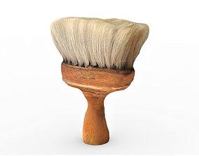 3D model realtime Barber Brush