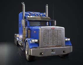 American Peterbilt Truck 3D model