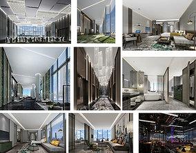 Hotel full 3d model house