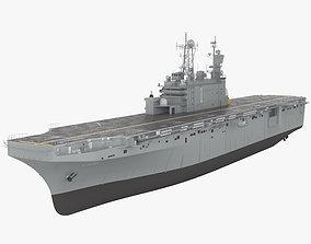 Tarawa-class amphibious assault ship 3D