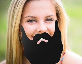 3D printable model Beard stick