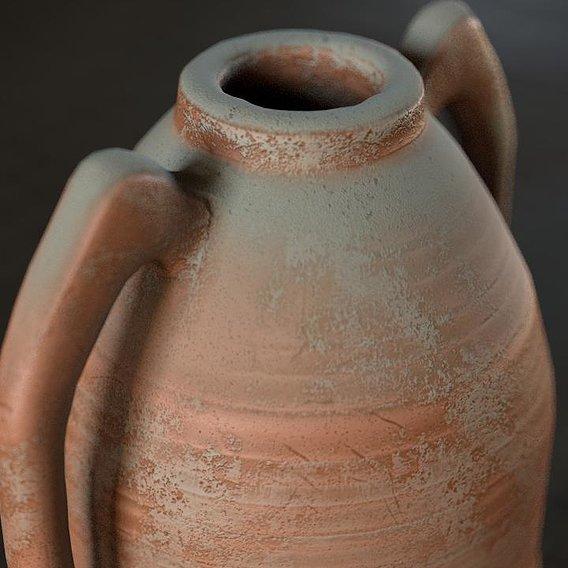 Dusty amphora