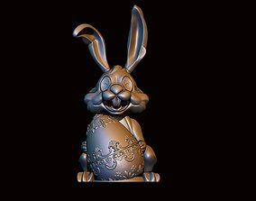 decoration Easter Bunny 3D printable model