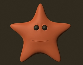 3D model animated Rig Star