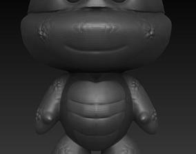 3D printable model Ninja Turtle Chibi