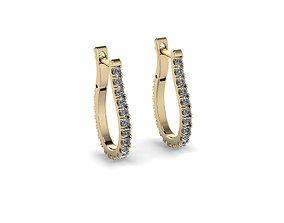Jewelry Earrings earring 3D printable model