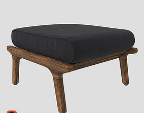 3D Gloster Bay Ottoman