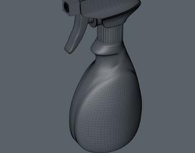 Spray bottle pot 3D