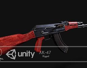 rigged VR / AR ready AK-47 Model